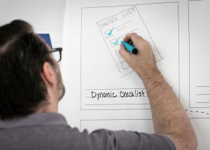 Designer is working on the dashboard for the application and creating the wireframes.