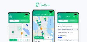 RepMove Routing Sales App